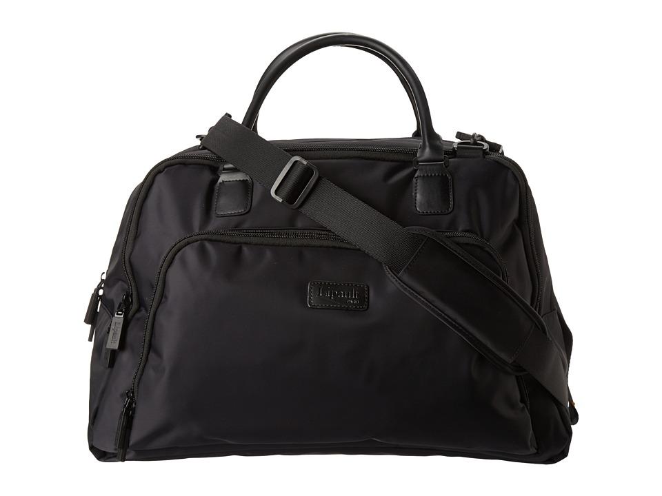 Lipault Paris JPS Series 19 Weekend Tote Black Tote Handbags