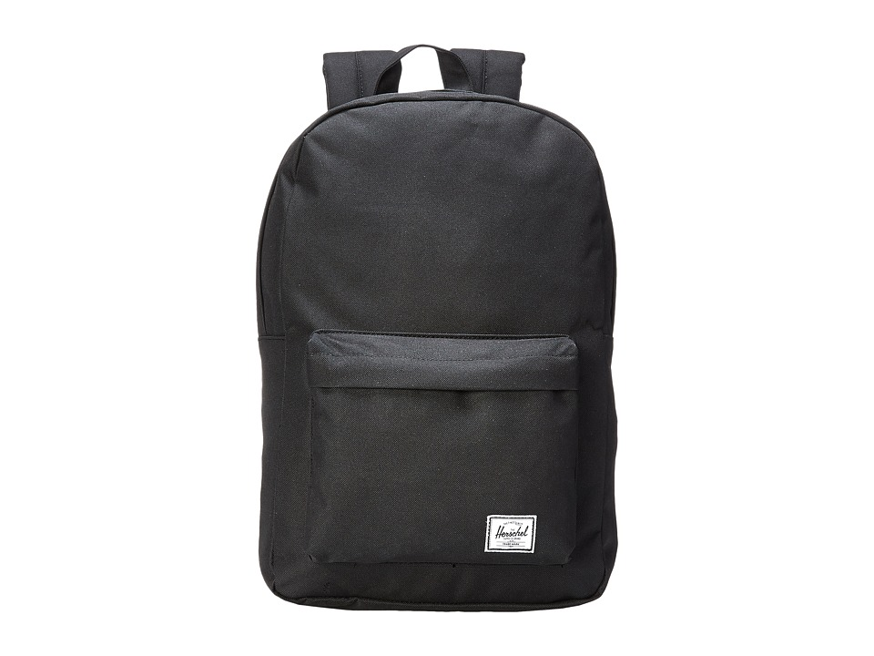 Herschel Supply Co. - Classic Mid-Volume (Black) Backpack Bags