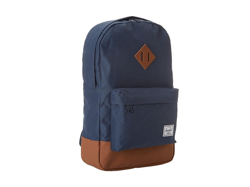 Herschel Supply Co. - Heritage Mid-Volume (Navy) Backpack Bags