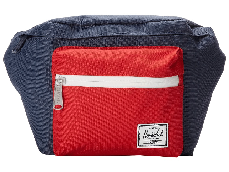 Herschel Supply Co. - Seventeen (Navy/Red) Travel Pouch