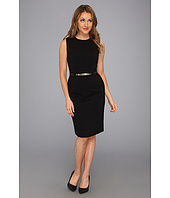 Calvin Klein - Belted Peplum Dress CD3X1J38