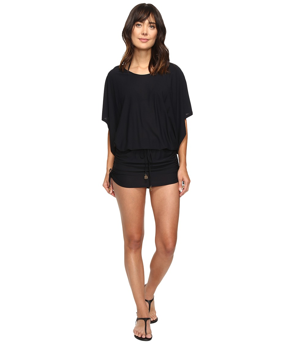 Luli Fama Cosita Buena South Beach Dress Cover-Up (Black)