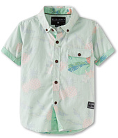 Billabong Kids - Pineapples S/S Woven (Toddler/Little Kids)