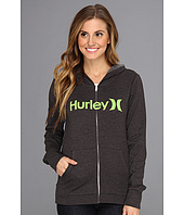 Hurley - One & Only Slim Fleece Zip Hoodie (Juniors)