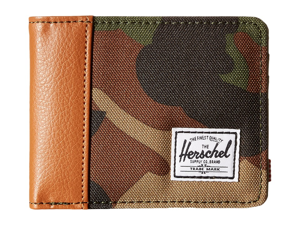 Herschel Supply Co. - Edward (Woodland Camo/Tan) Bi-fold Wallet