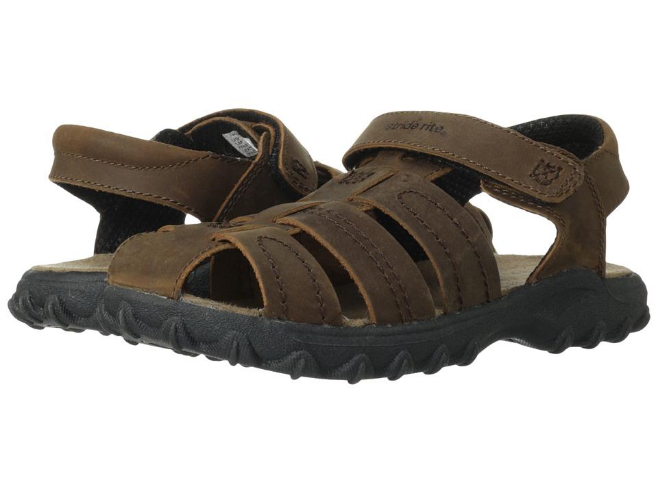 Stride Rite Hudsen (Toddler/Little Kid) (Brown) Boy's Shoes