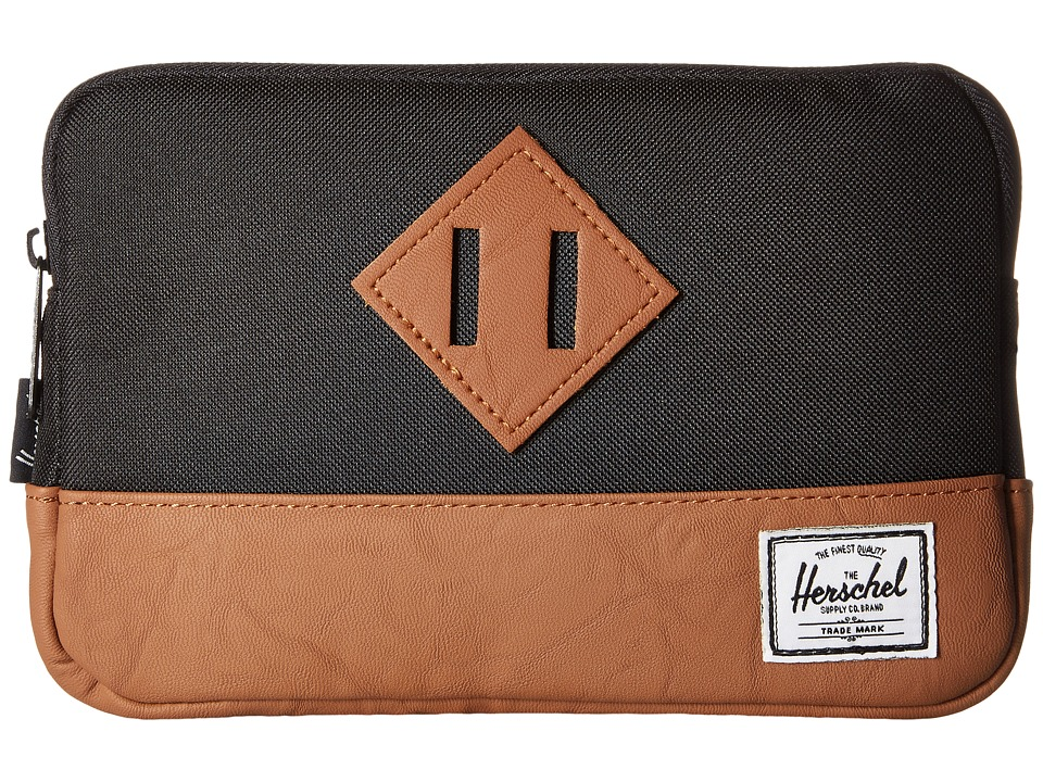 Herschel Supply Co. - Heritage Sleeve For iPad Mini (Black) Computer Bags