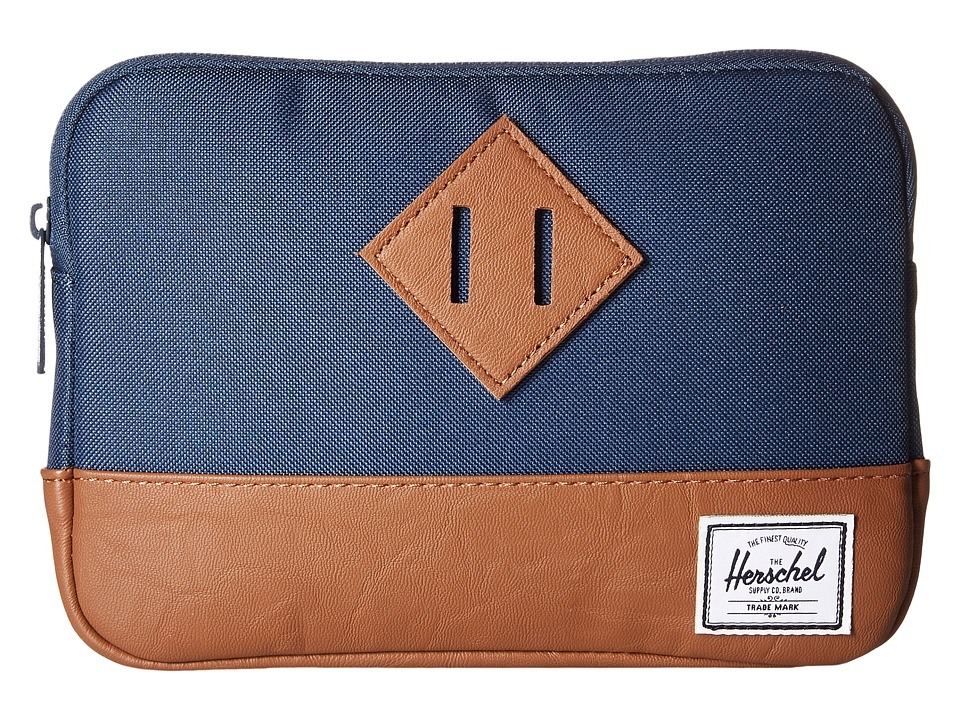Herschel Supply Co. - Heritage Sleeve For iPad Mini (Navy) Computer Bags