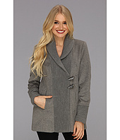Vince Camuto - Asymmetrical Toggle Knit Coat