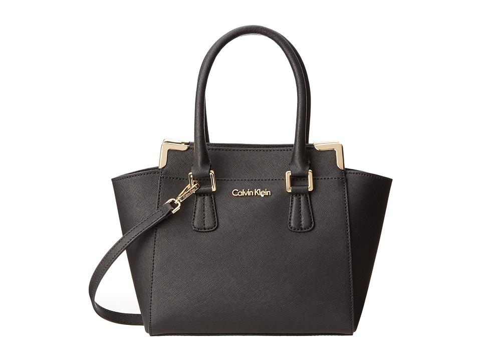 Calvin Klein - On My Corner H3JE12AC (Black) Satchel Handbags