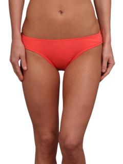 Carve Designs St. Barth Bikini Bottom Hot Coral