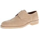 a. testoni - Casual Suede Wingtip (Beige) - Footwear