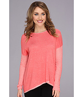TWO by Vince Camuto - Boatneck Drop Shoulder Sweater