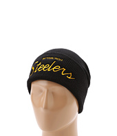 Mitchell & Ness - NFL Throwbacks Script Cuffed Knit Hat - Pittsburgh Steelers