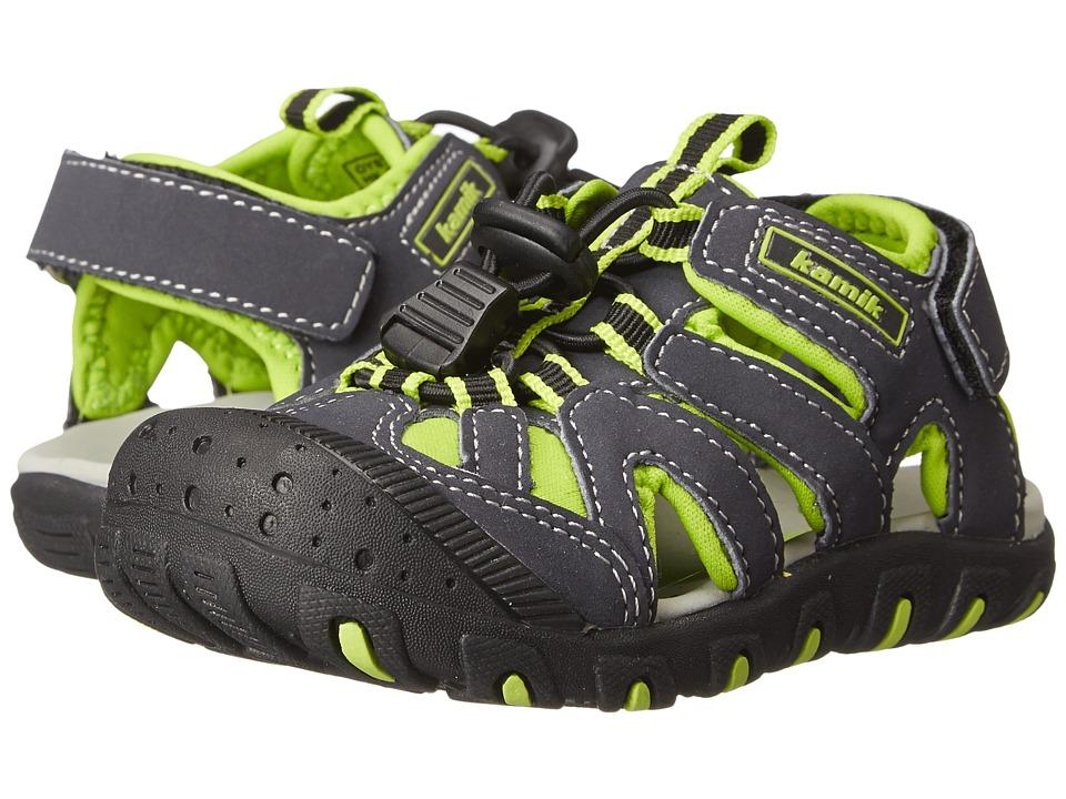 Kamik Kids Oyster Toddler Green Boys Shoes