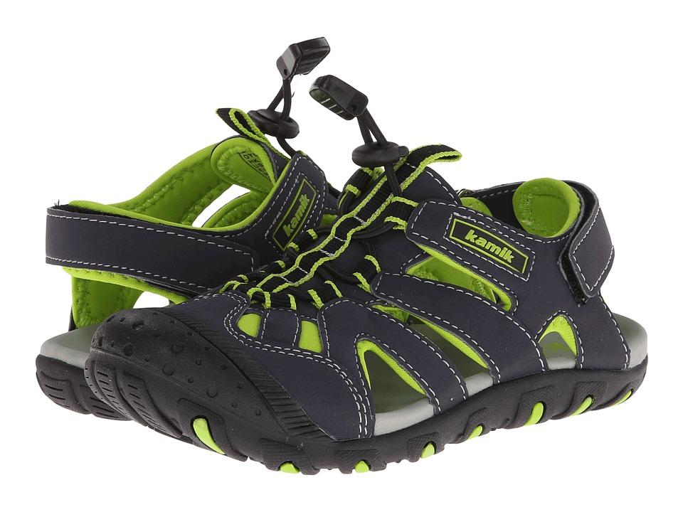Kamik Kids Oyster Little Kid/Big Kid Green Boys Shoes