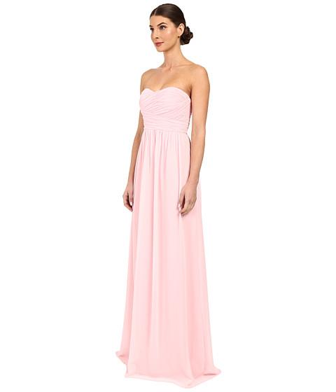 Donna Morgan Strapless Chiffon Gown - Stephanie - Zappos.com Free ...