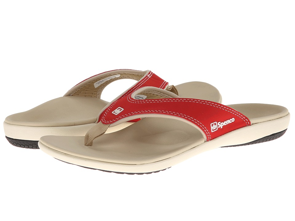 Spenco - Yumi Canvas (True Red) Women