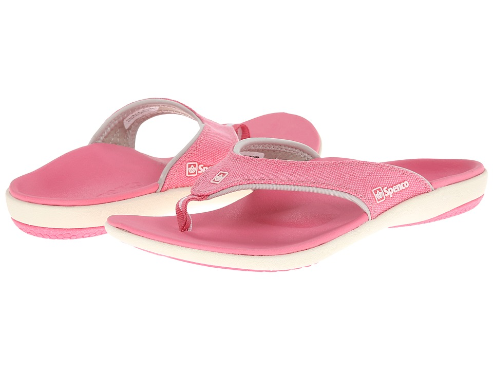 Spenco - Yumi Canvas (Pink) Women