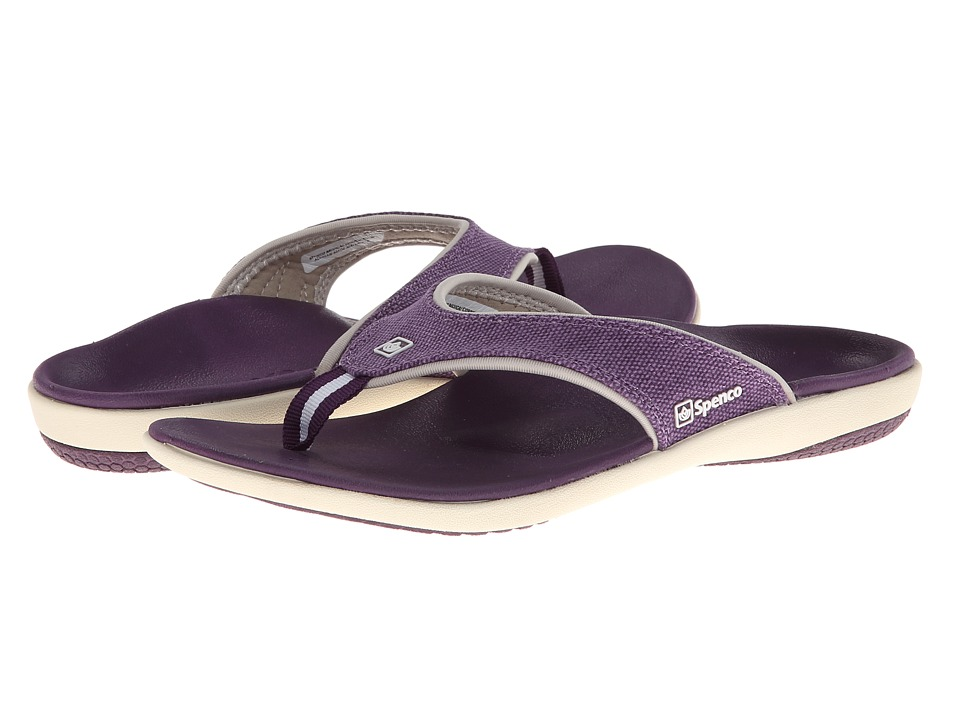 Spenco - Yumi Canvas (Deep Purple) Women
