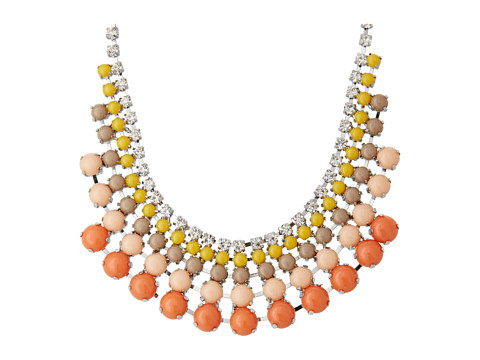 Fossil Colorful Cup Chain Bauble Necklace
