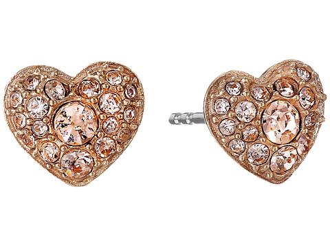 Fossil Glitz Heart Earrings