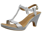 Born - Alcala II - Crown Collection (White Textured Metallic) - Footwear