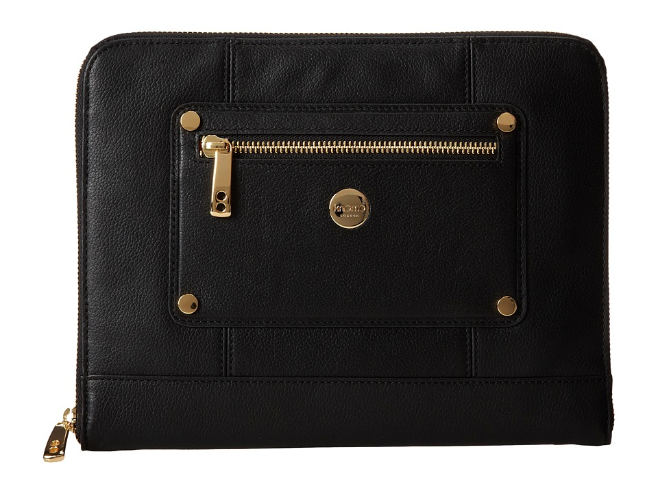 KNOMO London Zip Sleeve for Tablet (New Black) Computer Bags