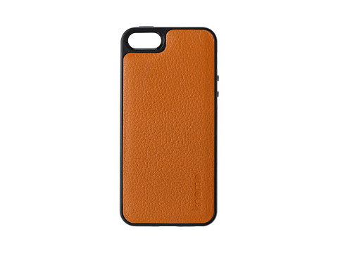 KNOMO London Tech - Shell Case with Leather Back