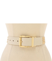 MICHAEL Michael Kors - Michael Kors Belt With 3 Rows Of Flat Square Studs