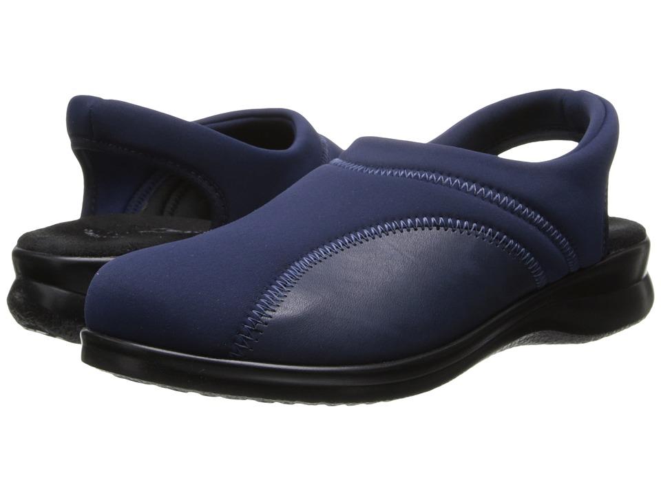 Flexus Flexia Navy Womens Slip on Shoes