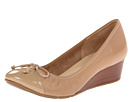 Cole Haan - Air Tali Lace Wedge (Sandstone/Sandstone Patent) - Footwear