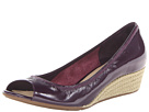 Cole Haan - Air Tali OT Wedge 40 (Nightshade Patent/Jute) - Footwear