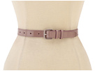 Cole Haan - Enamel Hardware Belt (Bark) - Apparel