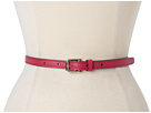 Cole Haan - Village Skinny Belt (Raspberry) - Apparel