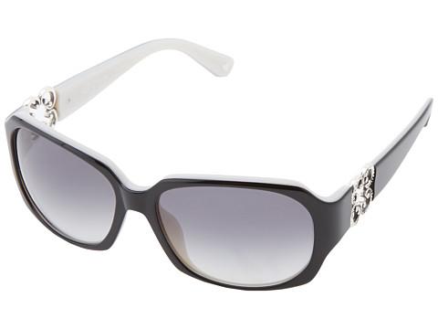 Brighton Crystal Breeze Sunglasses - Black/Pearl White