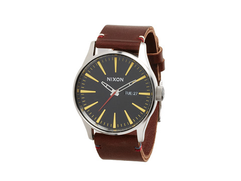 Nixon The Sentry Leather - The Luxe Heritage Collection