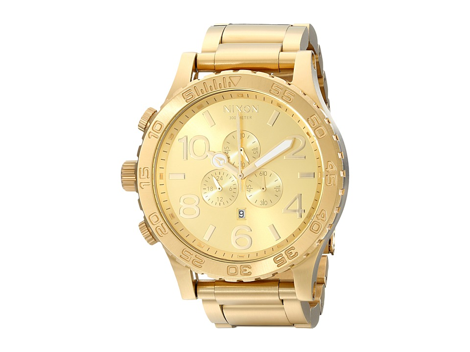 Nixon - 51-30 Chrono (All Gold) Watches