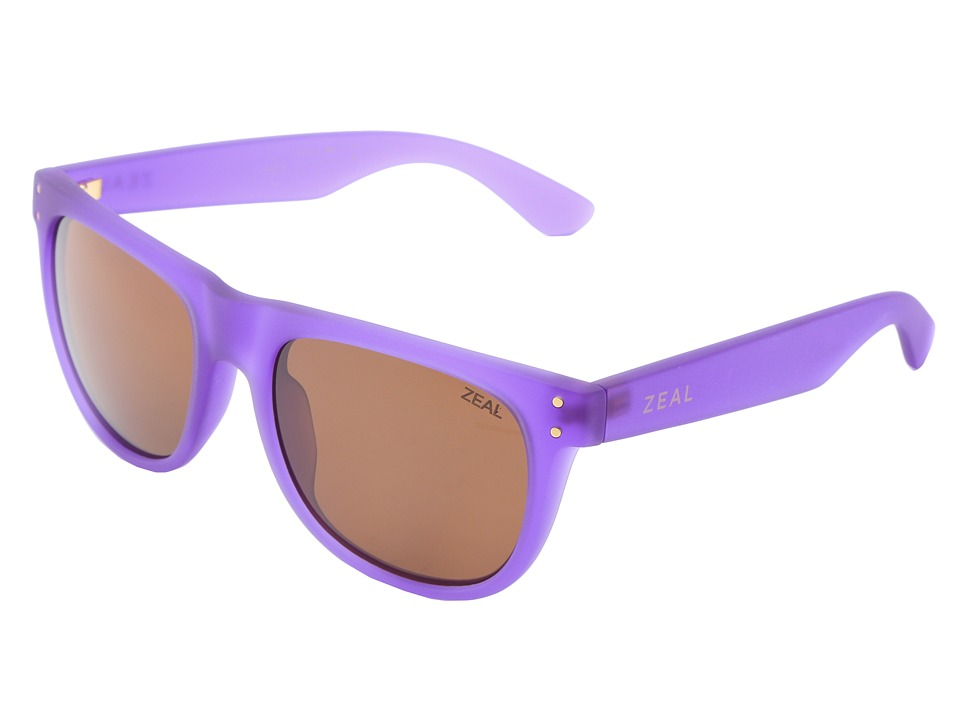 Zeal Optics Ace Deep Purple w / Copper Polarized Lens Athletic Performance Sport Sunglasses