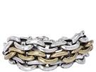 Gypsy SOULE 3 Strand Large Link Bracelet (Silver/Gold)