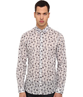 Just Cavalli - Orchid Wallpaper Print L/S Button Up