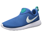Nike - Roshe Run Slip On (Military Blue/Photo Blue/Turbo Green/White)