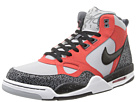 Nike - Flight '13 Mid (Wolf Grey/Light Crimson/Dark Grey/Black)