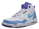 Nike - Flight '13 Mid (White/Purple Venom/Dark Grey/Polarized Blue)