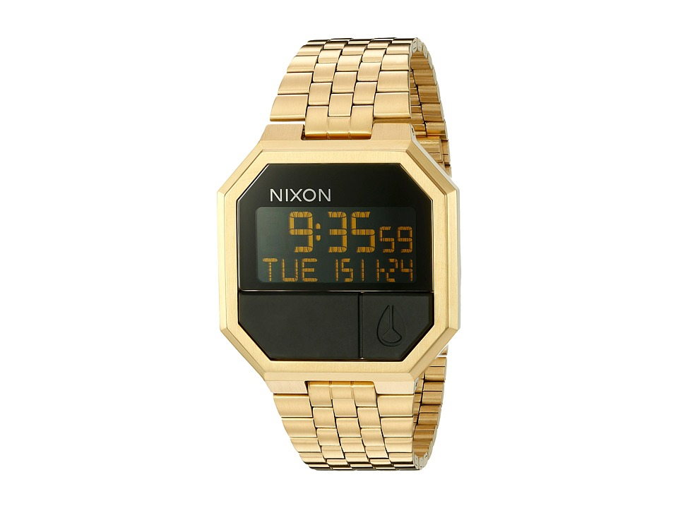 Nixon - Re-Run (All Gold) Watches