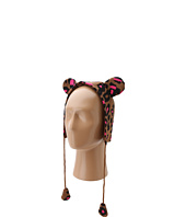 Betsey Johnson - Seeing Spots Earflap Hat (Little Kids/Big Kids)