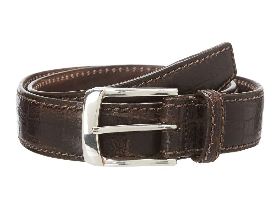 Brighton - 1 3/8 Escape Belt (Dark Brown) Mens Belts