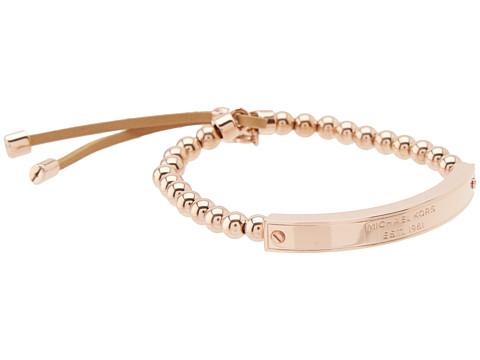 Sale alerts for Michael Kors Collection Logo Plaque Stretch Bead Bracelet - Covvet