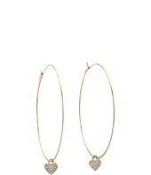 Michael Kors Collection - Heart Drop Whisper Hoop