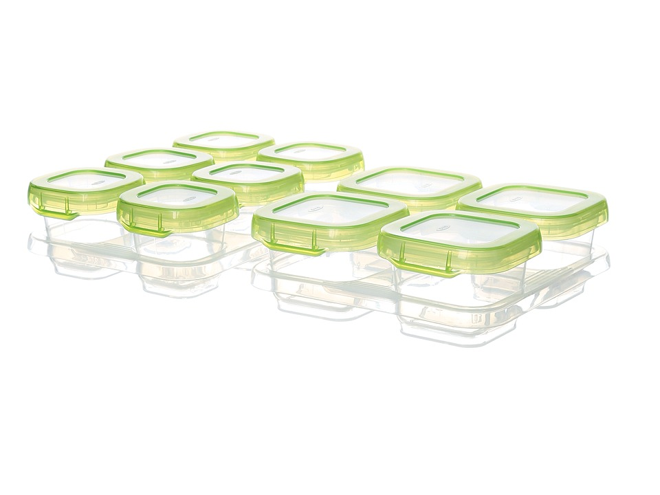 OXO - Tot 12 Piece Baby Block Set (Green) Dinnerware Cookware